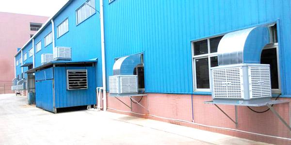星科实业简述厂房降温环保空调使用的注意事项