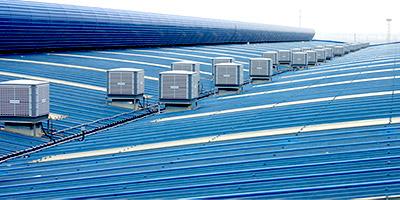 星科冷风机环保空调钢结构厂房通风降温解决方案