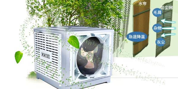 星科蒸发式冷风机通风换气降温系统---疫情防控解决方案